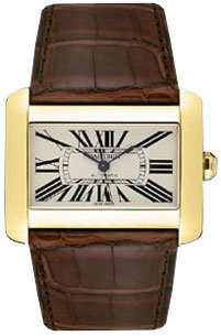 Cartier Divan Mens Watch w6300856