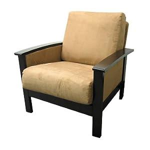 Milano Espresso and Mocha Chair
