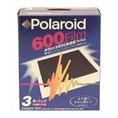 Polaroid 600フィルム レギュラー 3P