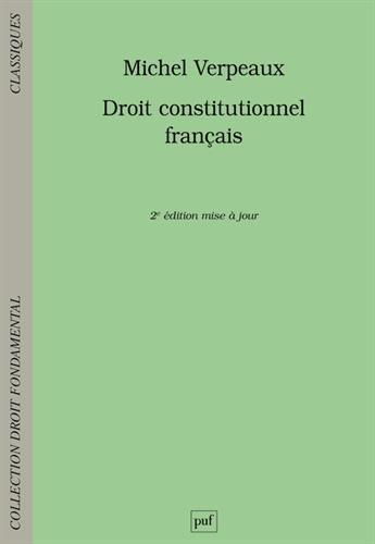 Droit constitutionnel français