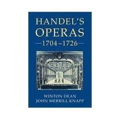 Handel's Operas, 1704-26