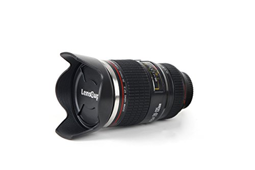 Flash Pro Camera Lens Cup Black
