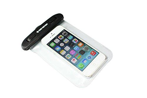 CASE FACTORY 防水ケース AQUA MARINA for iPhone5s/5c/5/4s/4  防水保護等級 IPX8 ネックストラップ付属 iPhone5s/5c/5にぴったりサイズ! AAM-003 クリア