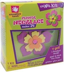 Fibre Craft Foam Kit Makes 24 Flower Necklace 50002; 3 Items/Order