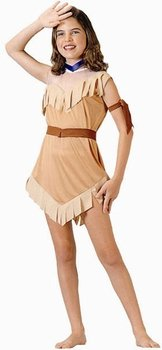 Child's Native American Girl Halloween Costume (Large 12-14)