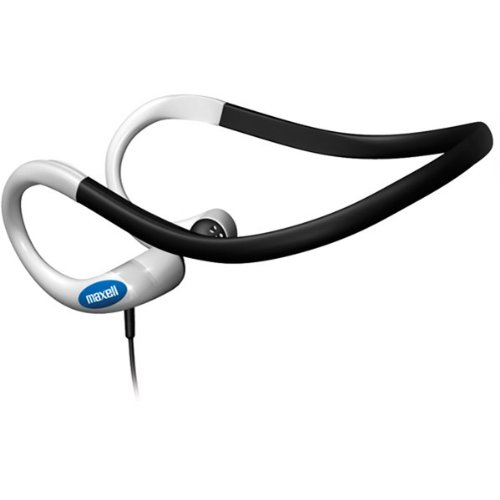 Maxell Genuine Nb-Hb210 Lightweight Stereo Neckband Earbuds
