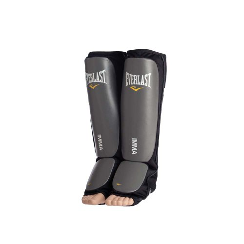 Everlast Black Mixed Martial Arts Shin Guards