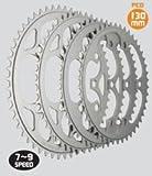 TIOGA Chainring 46T 5アーム用PCD:130mm 7~9SPEED (チェーンリング) タイオガ チェーンリング CKR05400 46T(CKR05400)
