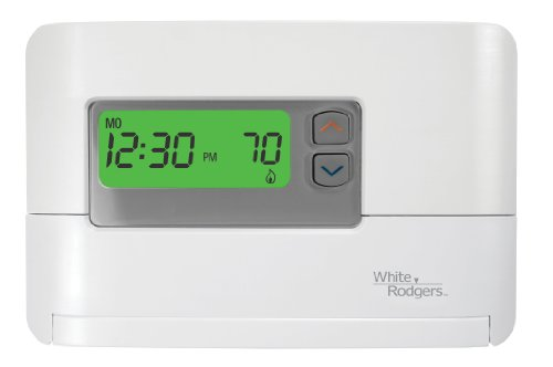 White-Rodgers P200 5-1-1 Programmable Single Stage Thermostat