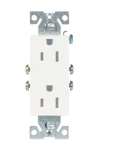Buy 8 Pack of 1107W WHITE DUPLEX RECEPTACLE (EAGLE ELECTRIC - COOPER WIRING ,Lighting & Electrical, Electrical, Circuit Breakers Fuses & Load Centers, Fuses)