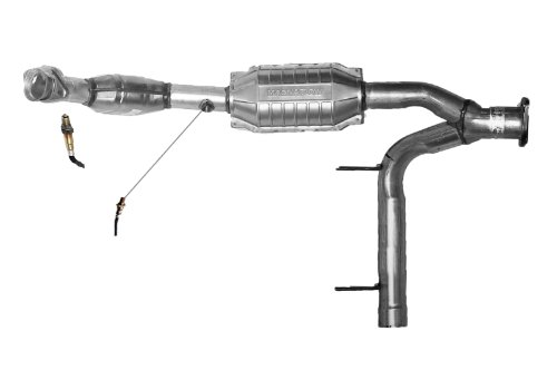 Direct-Fit Catalytic Converter AB Catalytic 41804 Non C.A.R.B. Compliant