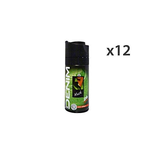 Set 12 DENIM Deodorante Spray MUSK Cura del corpo