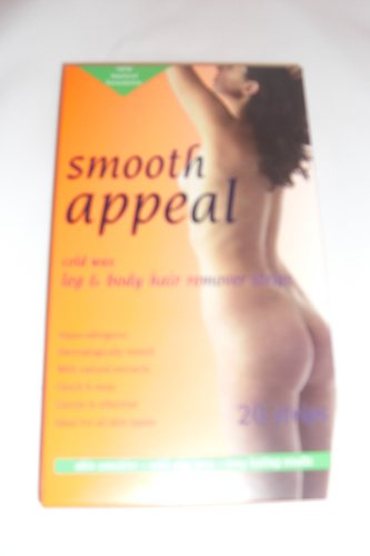 Smooth Appeal Cold Wax Hair Removing Strips for Leg/Body x 20
