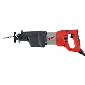 Milwaukee 6523-21 13 Amp Super Sawzall Reciprocating Saw with Rotating Handle
