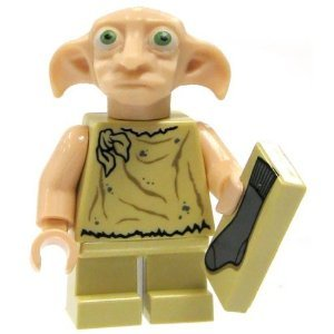 31WHJ73omuL Cheap  Lego Harry Potter Dobby Minifigure with Sock