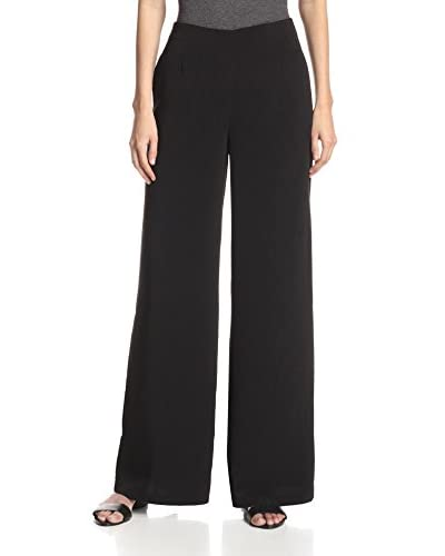 Line & Dot Women's Luxe Wide-Leg Trouser