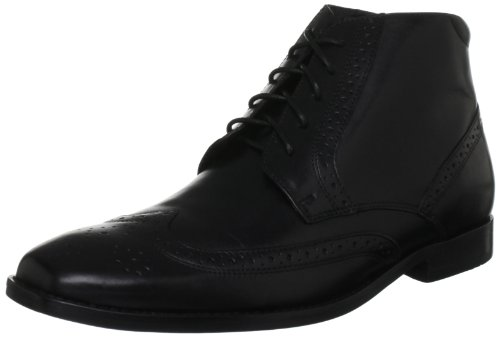 Rockport Men's OR Wingtip Black Shoe K71716 9.5 UK