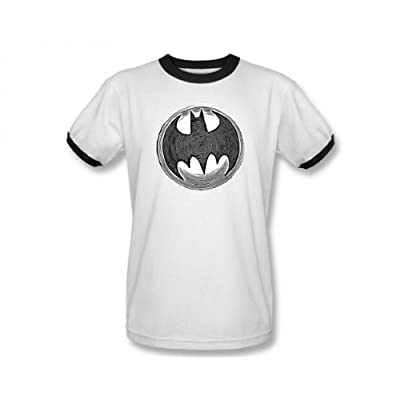 DC Batman Knight Knockout Ringer T-Shirt
