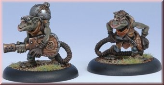 Privateer Press Minions - Swamp Gobber Fog Bellows Model Kit