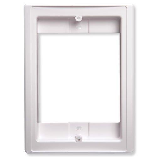 Nutone Nf300Dwh Door Speaker Retrofit Frame (White)