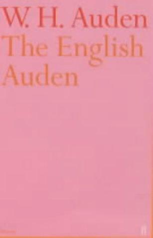 Wh auden essays