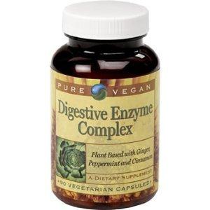 Vegan pures enzyme digestive complexes Vegetarian