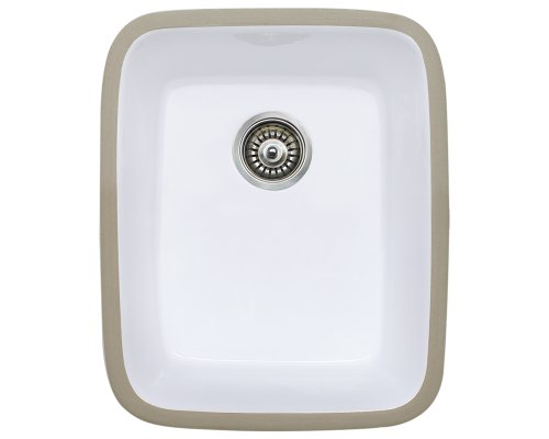 MR Direct 460-w Undermount Porcelain Kitchen Sink