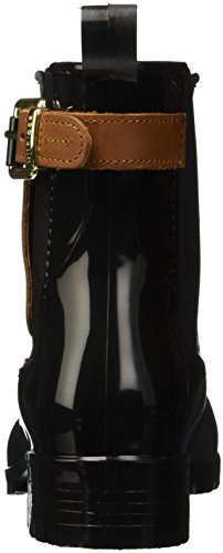 Tommy Hilfiger Damen O1285XLEY 2Z2 Kurzschaft Schlupfstiefel, Mehrfarbig (Black-Winter Cognac 990), 40 EU -