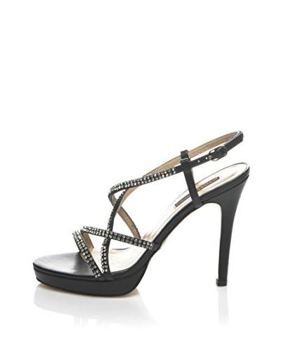 CINTI Sandalo Con Tacco [Nero]