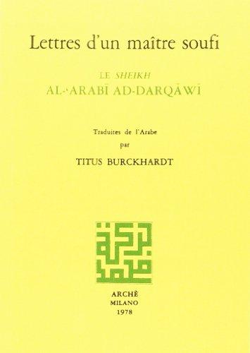 Lettres d'un maître soufi