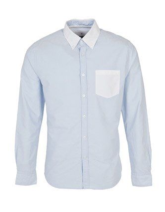 Fabric Berlin Shirt - Light blue - Mens