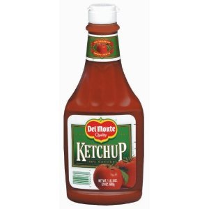 Del Monte Tomato Ketchup, 24-Ounce (Pack of 6)