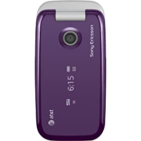 Sony Ericsson Z750 Phone, Purple (AT&T)
