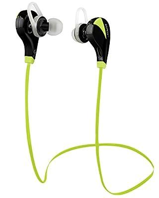 Zenco HERMES(TM) Wireless Bluetooth 4 Universal Sweatproof Sport Earbuds w/ Mic