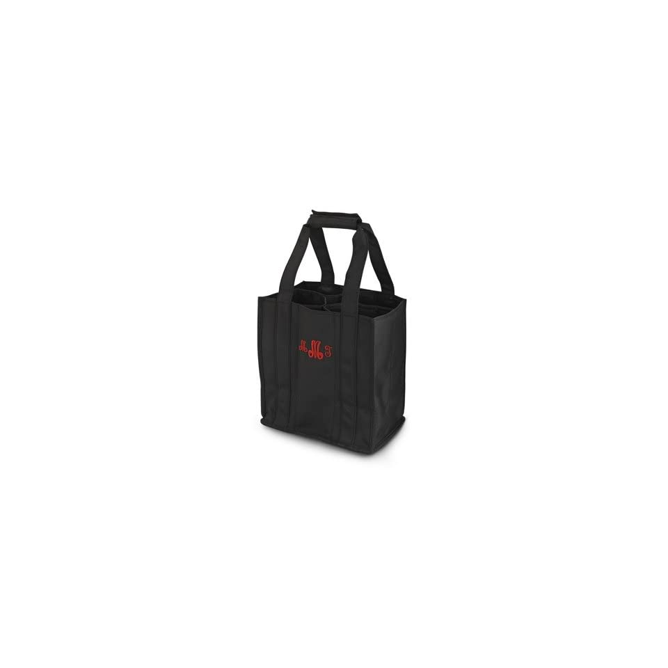 Personalized Black To Go Tote Gift