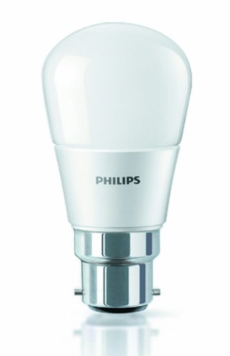 Philips Philips 2.5-Watt B22 Base LED Bulb (Warm White) (Beige\/Sand\/Tan)