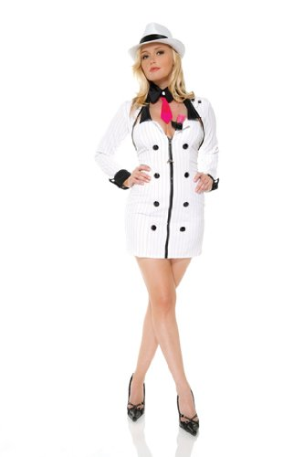 Mobster Minx Costume - XS/Small - Dress Size 0-2