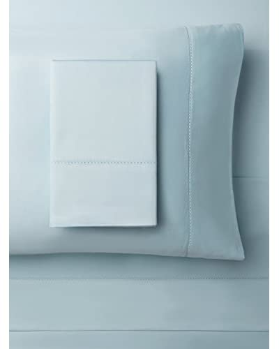 Palace Linens Fountaine Collection Hem Stitch Solid Sheet Set
