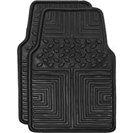 Custom Accessories 78611 All Season Floor Mat-2PC BLK WEATHER FLR MATS