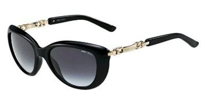 Jimmy Choo JIMMY CHOO Sunglasses WIGMORE/S 0BMB Shiny Black 54MM