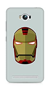 Amez designer printed 3d premium high quality back case cover for Asus Zenfone Max ZC550KL (Iron Man)
