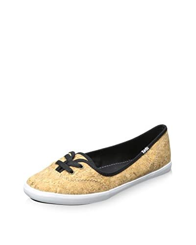 Keds Women's Teacup Cork Fashion Sneaker  [Black]
