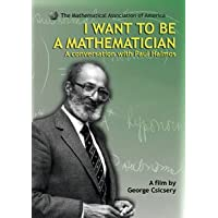 I WANT TO BE A MATHEMATICIAN: A CONVERSATION WITH PAUL HALMOS DVD