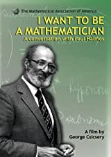 I WANT TO BE A MATHEMATICIAN DVD