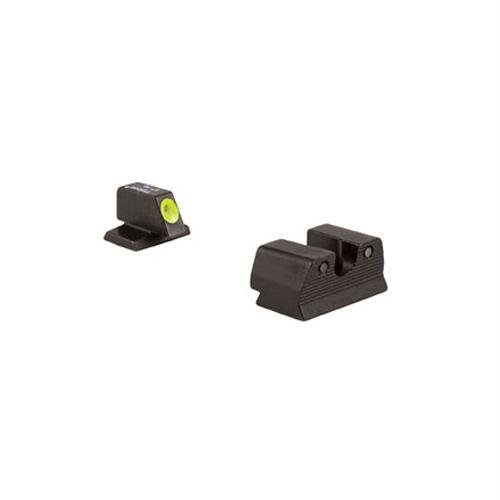 Fnh Trijicon Hd .40Mm Front Outline Night Sight Set, Yellow