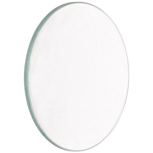American Educational Unmounted Double Convex Lenses with Ground Edges, 38mm Diameter, 20cm Focal Length (Pack of 5)