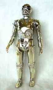 Kenner Vintage Star Wars Silver Death Star Droid - Action Figure From 1978 - 1