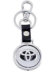 Forty Creek Toyota Locking Key Chain (Silver)