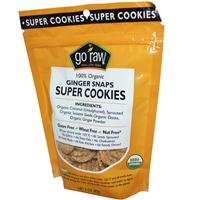 Organic Super Cookies, Ginger Snaps, 12 Bags, 3 oz (85 g) Each