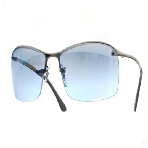 ray-ban - RB3183 004/7C (Gunmetal/Light Blue)